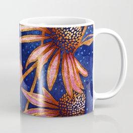 Moonlight and Daisies II Coffee Mug