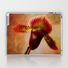 Ruby Lady Slipper Orchid Laptop & iPad Skin