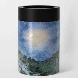 Starry Night Sunrise Can Cooler