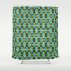 Tile Pattern 1 Shower Curtain