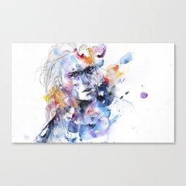 cold crossing Canvas Print