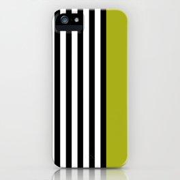 Liquorice allsorts, green iPhone Case