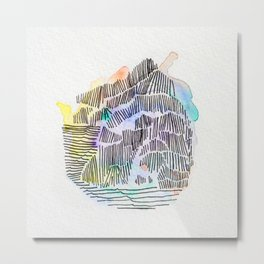 Waterlines Metal Print
