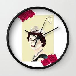 Queen Elizabeth II Wall Clock