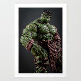 Planet Hulk Art Print