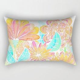 FLORES ALEGRES Rectangular Pillow