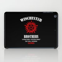winchester iPad Cases featuring Winchester Brothers by Yiannis