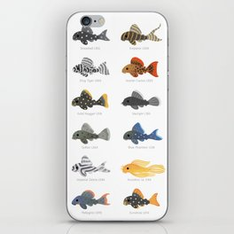 Pleco! - white iPhone Skin