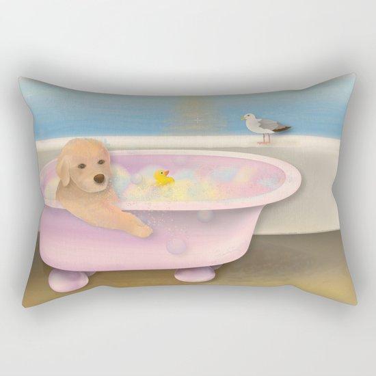 Golden Time Rectangular Pillow