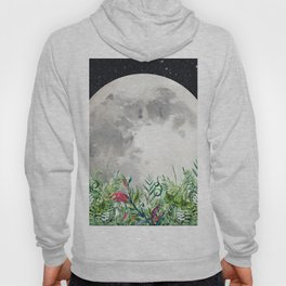 Night Garden Moon Magick Hoody