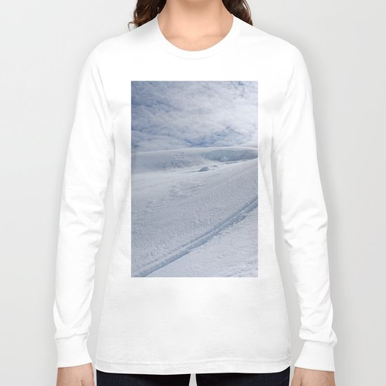Snow Tracks Long Sleeve T-shirt