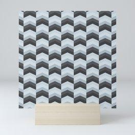 ZigZag pattern Mini Art Print