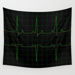 Normal Heart Rhythm Wall Tapestry