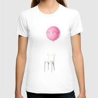 baloon T-shirts featuring Fly away by yuvalaltman