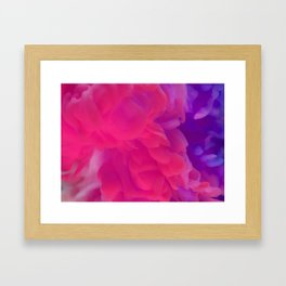 CREATE YOUR LIFE'S COLOR Framed Art Print