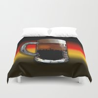 german Duvet Covers featuring German Sunset by G.B.Artdesign