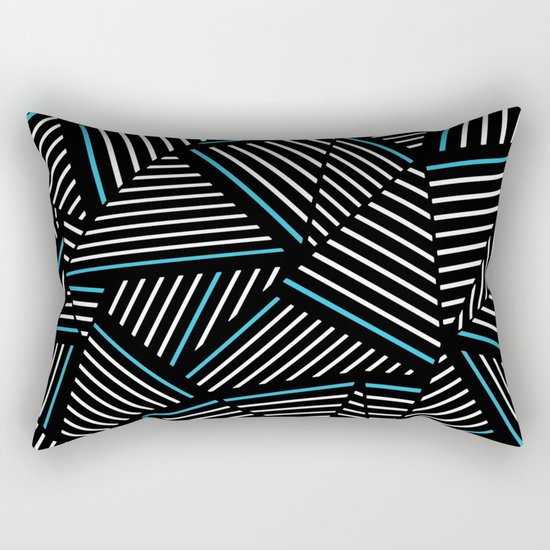 Ab Linear Inverted with Electric Rectangular Pillow