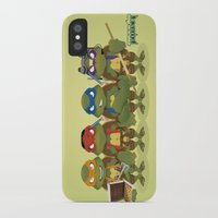 tmnt iPhone & iPod Cases featuring TMNT by Micka Design