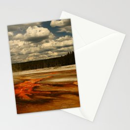 Hot And Colorful Thermal Area Stationery Cards