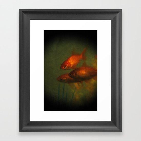 Goldfish In Antiquity  Framed Art Print