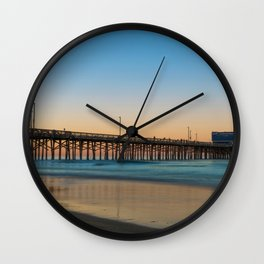 Solitary Seagull Wall Clock