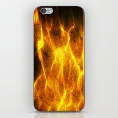 Watery Flames iPhone & iPod Skin