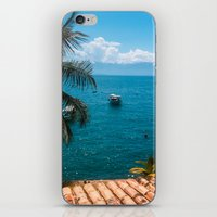 boats iPhone & iPod Skins featuring Boats by Mauricio Santana