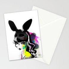 Bunny gone Stationery Cards