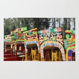 Xochimilco: Trajinera Ride Rug