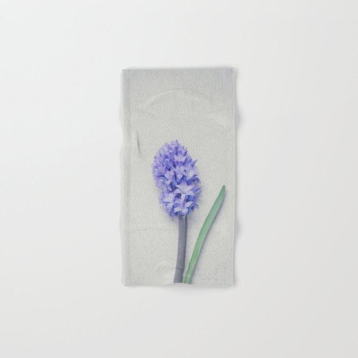 Lovely Bright Lilac Hyacinth Hand & Bath Towel