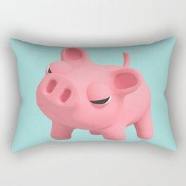 Rosa the Pig Angry Rectangular Pillow