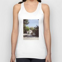 hollywood Tank Tops featuring Hollywood, California by Kevin Russ