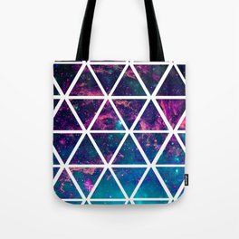GALAXY TRIANGLES Tote Bag