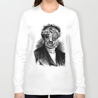 meat Long Sleeve T-shirts featuring MEAT by DIVIDUS