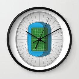 Football Stadium Wall Clock