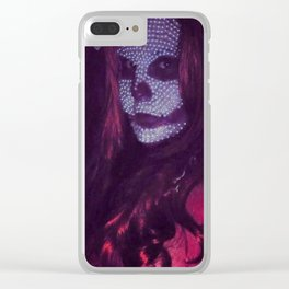 The Red Death Clear iPhone Case