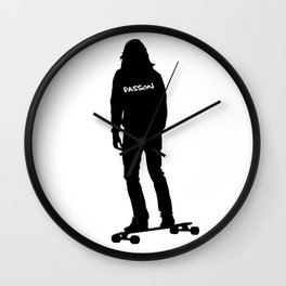 Longboard Passion Wall Clock