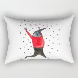 He Dreams of Ants Rectangular Pillow