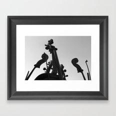 Divine Music Framed Art Print