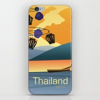 thailand iPhone & iPod Skins featuring Thailand by Shirong Gao
