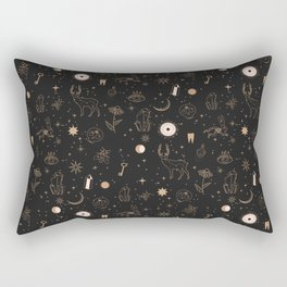 Occult Tattoo Rectangular Pillow
