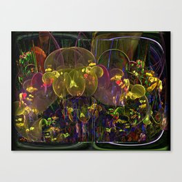 If St. Pepper Grew a Garden Canvas Print