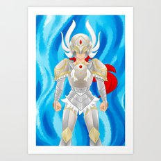Leora of Valor Art Print