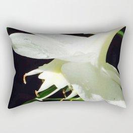 Lilly White Rectangular Pillow