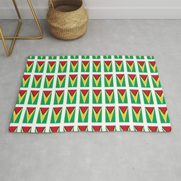 Flag of Guyana -Guyanese,Guyanes,Georgetown,Linden,Waiwai Rug