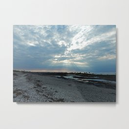 Rays of Sunshine on a Cloudy Day Metal Print