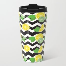 Simply the Zest Metal Travel Mug