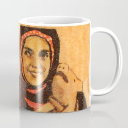 Soviet Film Poster They Met in Moscow Coffee Mug