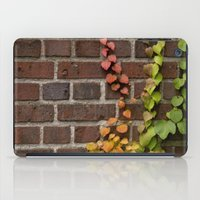 climbing iPad Cases featuring Climbing by C. Wie Design