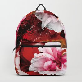 Peony And Goldfish Backpack